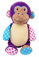 Personalised Cubbies Harlequin Monkey